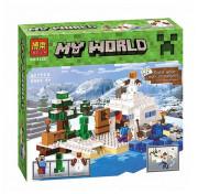 Конструктор Bela Снежное убежище Minecraft 10391