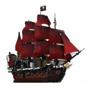 Игровой набор Пираты Карибского моря Конструктор Lepin Pirates of the Caribbeans 16009 Месть королевы Анны, 1151 деталей, (аналог Lego 4195)