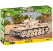 Конструктор Cobi Small Army World War II 2527 Танк Панцер II AUSF. F (420 деталей)