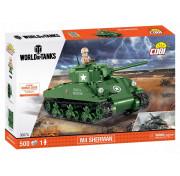 Конструктор Cobi World of Tanks 3007 M4 Шерман A1 (500 деталей)