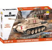 Конструктор Cobi World of Tanks 3035 Немецкий танк Panther Warsaw Uprising 505 деталей