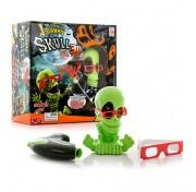 Johnny the Skull 3053 Тир проекционный 3D Джонни-Черепок с 1 бластером