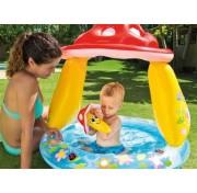 Intex Mushroom Baby 57114 Детский надувной бассейн Грибок с водой
