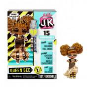 Мини Кукла ЛОЛ сюрприз 9 см LOL Surprise! JK Queen Bee Mini Fashion Doll с 15 сюрпризами 570783