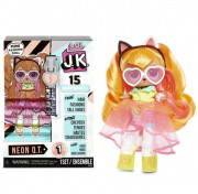 Мини Кукла ЛОЛ сюрприз 9 см LOL Surprise! JK Neon Q.T. Mini Fashion Doll с 15 сюрпризами 570776