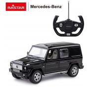 Машина радиоуправляемая Rastar Mercedes G55 AMG, 30400B, черный,30400B