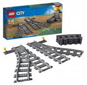 Конструктор LEGO City Trains Железнодорожные стрелки 60238