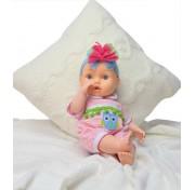 Кукла Bambina Bebe, 42 см, с аксессуарами для кормления и звуковыми эффектами BD1374RU-M33