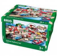 BRIO ж/д Стартовый набор Deluxe XXL 87 деталей 33052