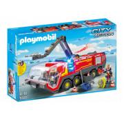 Набор с элементами конструктора Playmobil 5337 Пожарная машина аэропорта