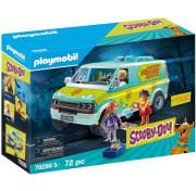 Набор с элементами конструктора Playmobil Scooby Doo Mystery Machine 70286 Скуби Ду Таинственная Машина