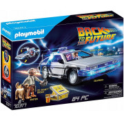 Набор с элементами конструктора Playmobil Back to the Future 70317 автомобиль DeLorean DMC-12
