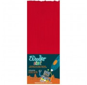 Эко-пластик к 3D-ручке 3Doodler Start, красный 3DS-ECO02-RED-24 Wobble Works
