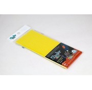 Эко-пластик к 3Д ручке 3Doodler Start, цвет желтый, 24 шт, 3DS-ECO04-YELLOW-24 Wobble Works