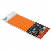 Эко-пластик к 3D-ручке 3Doodler Start, оранжевый 3DS-ECO06-ORANGE-24 Wobble Works