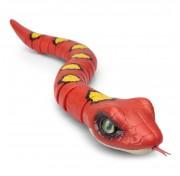 Интерактивная игрушка Робо-змея RoboAlive Т10996, Красная Zuru 40*13*10см