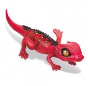 Интерактивная игрушка Робо-ящерица RoboAlive Т10994, красная Zuru