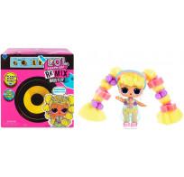 Кукла сюрприз LOL Surprise Remix Hair Flip Dolls с настоящими волосами и музыкой 15 сюрпризов 566977 MGA Entertainment