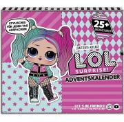 Набор Лол Сюрприз Модный образ (25 сюрпризов) LOL Surprise 567165 Advent Calendar 2020 OOTD MGA