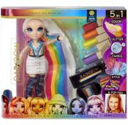 Набор Rainbow High Surprise студия причесок с эксклюзивной куклой Amaya Raine 569329 MGA Entertainment