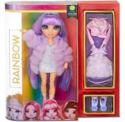 Кукла Rainbow High Surprise Dolls Violet Willow фиолетовая Fashion Doll с двумя нарядами 569602 MGA Entertainment