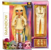 Кукла Rainbow High Surprise Dolls Sunny Madison желтая Fashion Doll с двумя нарядами 569626 MGA Entertainment