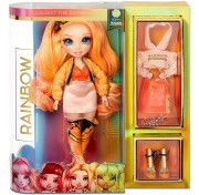 Кукла Rainbow High Surprise Dolls Poppy Rowan оранжевая Fashion Doll с двумя нарядами 569640 MGA Entertainment