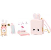 Игровой набор с мягкой куклой Na Na Na Surprise 3в1 спальня-рюкзачок розовый кролик Aubrey Hear 569732