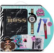 Набор LOL Surprise OMG Fashion Journal Da Boss MGA Entertainment 571278 модный журнал с часами Да Босс