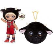 Кукла мягкая Na Na Na surprise Мальчик буйвол Tommy Torro 4 серия (голова быка) 571766