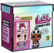 Игровой набор LOL Surprise Furniture 3 серия Спальная палатка со Sleepy Bones 570035