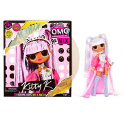 ЛОЛ ОМГ Кукла LOL OMG Remix Kitty K с музыкой, 25 сюрпризов, 567240