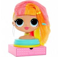Голова для причесок и макияжа куклы LOL Surprise OMG Styling Head, Neonlicious 565963