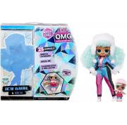 Кукла LOL Surprise OMG Winter Chill ICY Gurl Fashion Doll & Brrr BB Doll 570240