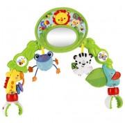 """Дуга BHW57 игровая с зеркальцем """"Друзья из тропического леса"""" для коляски Fisher-Price"""