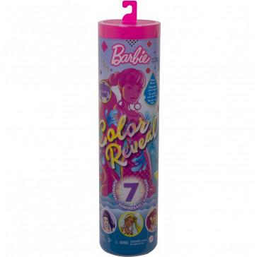 Кукла сюрприз Barbie Color Reveal Сюрприз (волна 4) GTR93, туба