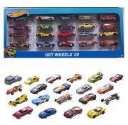 Подарочный набор из 20 машинок H7045 Mattel Hot Wheels