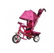 Детский трехколесный велосипед Trike Beauty B2RP, розово-малиновый, ПВХ колеса 10/8