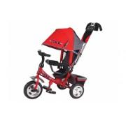 Детский трехколесный велосипед TRIKE TT2R, Черно-красный, ПВХ колеса 10/8