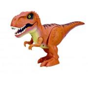 Интерактивная игрушка Робо-Тираннозавр RoboAlive оранжевый Т13694