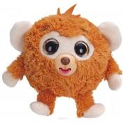 Игрушка 1 TOY Дразнюка-Zoo плюшевая оранжевая обезьянка показ язык 13см Т10348