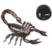 """Робот на ИК управлении 1 TOY  """"Robo Life"""" Робо-скорпион, коричневый Т10894"""