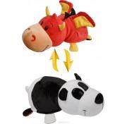 Мягкая игрушка Вывернушка 20 см 2в1 Дракон - Панда Т10923 1TOY