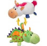 Мягкая игрушка Вывернушка 40 см 2в1 Единорог-Дракон Т10930  1TOY