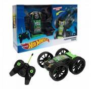 Hot Wheels трюковая трёхколёсная машина-перевёртыш на р/у, 27MHz, вращение на 360°, со светом, c АКБ, чёрная Т10967