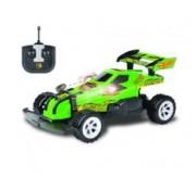 Hot Wheels машинка багги на р/у, масштаб 1:20, макс. скорость - 14км/ч, со светом, на батарейках (не включены), зелёная Т10975