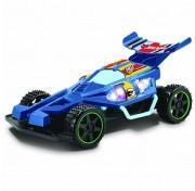 Hot Wheels багги на р/у, масштаб 1:18, со светом, синий, на батарейках (не включены), синяя Т10977