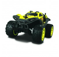 Hot Wheels багги бигвил на р/у, со светом, мягкий съёмный корпус, защита от влаги, скорость 8км/ч, с АКБ, жёлтая  Т10982