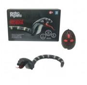 1TOY  Королевская кобра (черная) на ИК управлении, 45 см Т11394