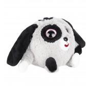 Игрушка 1 TOY Дразнюка-Zoo плюшевая серая собачка показывает язык 13см Т10352